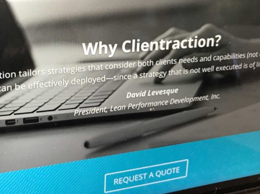 Clientraction Website