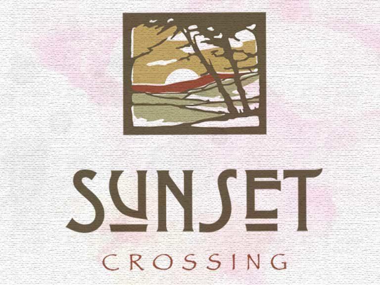 Sunset Crossing Logo